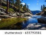 View Of Yosemite Creek  Just...