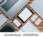 computer  laptop  digital... | Shutterstock . vector #655839031