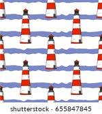 seamless vector pattern. white... | Shutterstock .eps vector #655847845