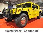 warsaw   november 5  hummer h1  ... | Shutterstock . vector #65586658