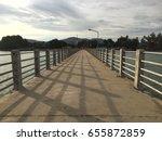 long bridge | Shutterstock . vector #655872859
