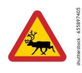 road sign used in sweden  ...   Shutterstock .eps vector #655897405