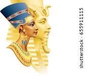 egyptian queen and the pharaoh...