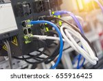 the lan cable  behind the... | Shutterstock . vector #655916425