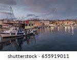rovinj  croatioa  september 24  ...   Shutterstock . vector #655919011