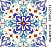 seamless turkish colorful...   Shutterstock .eps vector #655930981