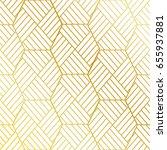 golden pattern background | Shutterstock .eps vector #655937881