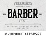 font. alphabet. script.... | Shutterstock .eps vector #655939279