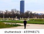 paris  france   february 24 ... | Shutterstock . vector #655948171