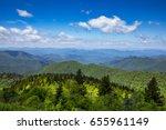 Small photo of The Blue Ridge Mountains in North Carolina