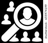 white find user toolbar... | Shutterstock .eps vector #655974199