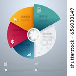 abstract infographics elements... | Shutterstock .eps vector #656033149
