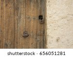 door | Shutterstock . vector #656051281