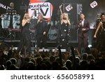 brooklyn  ny   june 03  group...   Shutterstock . vector #656058991