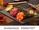 japanese food  | Shutterstock . vector #656067427