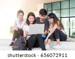 education  school and people... | Shutterstock . vector #656072911