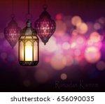 ramadan kareem greetings   Shutterstock .eps vector #656090035