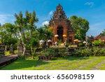 an altar in a courtyard near... | Shutterstock . vector #656098159