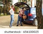 summer car trip    Shutterstock . vector #656100025