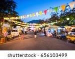 blurred background   people... | Shutterstock . vector #656103499