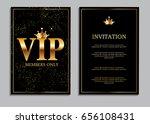 abstract luxury vip members... | Shutterstock .eps vector #656108431