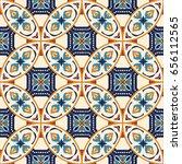 vector seamless texture.... | Shutterstock .eps vector #656112565