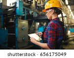 profile view of young...   Shutterstock . vector #656175049