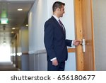 business  security and people... | Shutterstock . vector #656180677
