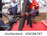 tractor control levers | Shutterstock . vector #656186767
