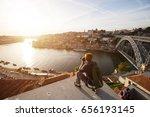 travel photographer doing...   Shutterstock . vector #656193145