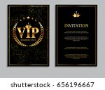 abstract luxury vip members... | Shutterstock .eps vector #656196667