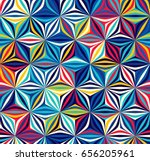 Bright Seamless Pattern Of...