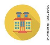 buildings | Shutterstock .eps vector #656210407
