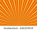 sun rays. sun with rays...   Shutterstock .eps vector #656253919