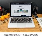 paris  france   june 6  2017 ...   Shutterstock . vector #656259205