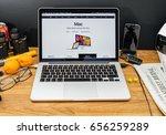 paris  france   june 6  2017 ... | Shutterstock . vector #656259289
