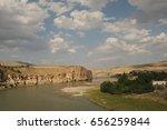 hasankeyf is an ancient town... | Shutterstock . vector #656259844