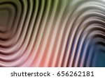 colorful ripple background | Shutterstock . vector #656262181
