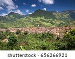 view of colonial city jardin ... | Shutterstock . vector #656266921