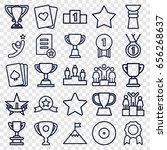 winner icons set. set of 25... | Shutterstock .eps vector #656268637