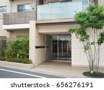 entrance of apartment | Shutterstock . vector #656276191
