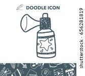 cracker doodle drawing | Shutterstock .eps vector #656281819