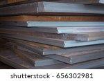 steel texture  steel stack ...   Shutterstock . vector #656302981