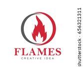 flames logo | Shutterstock .eps vector #656321311