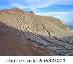 mount bromo volcano  east java  ... | Shutterstock . vector #656323021