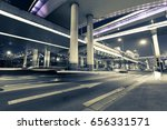 china shanghai  night road... | Shutterstock . vector #656331571