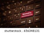 motion blur of enter button... | Shutterstock . vector #656348131