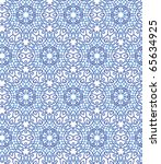 Seamless Pattern. A Blue...