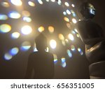 selective focus at the buddha... | Shutterstock . vector #656351005