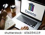 delete cancel cut out remove... | Shutterstock . vector #656354119